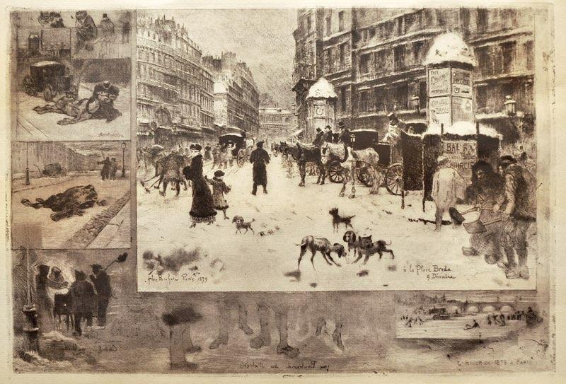 Buhot, Winter in Paris