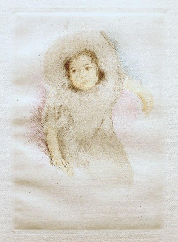 Cassatt, Margaret Wearing Her Bonnet