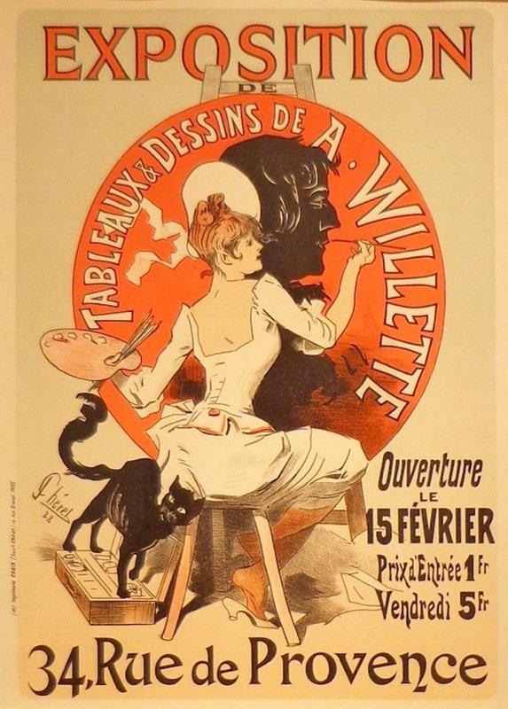 Chéret, Exposition Willette
