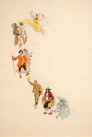 Chéret, La Fée du Rocher Ballet III