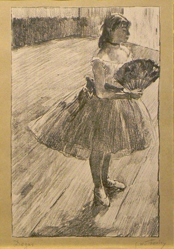 Degas, Petites Danseuse à l'Éventail