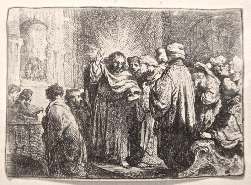 Rembrandt, Tribute Money