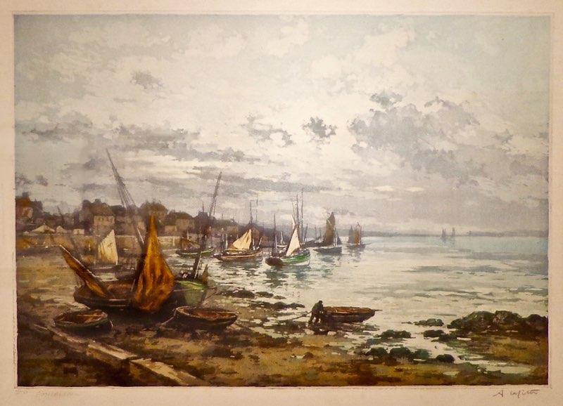 Lafitte, Brittany Seascape (Cancarneau)