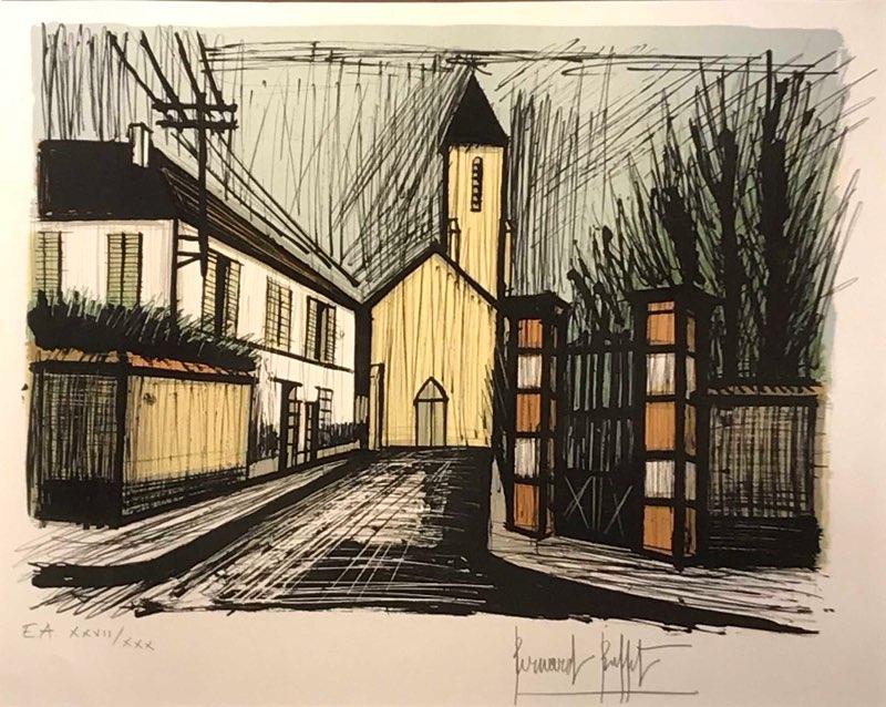 Buffet, The Yellow Church, 1981