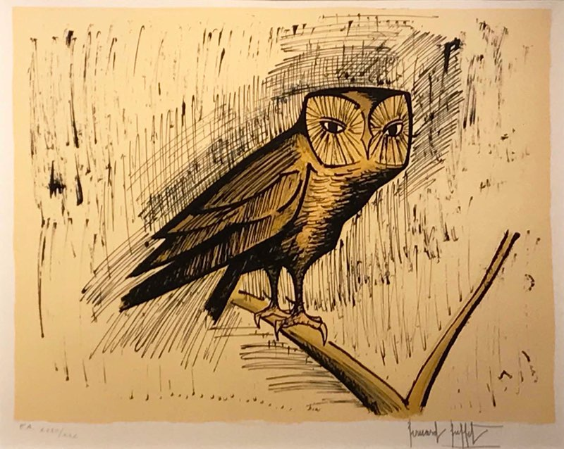 Buffet, The Wood Owl, 1982
