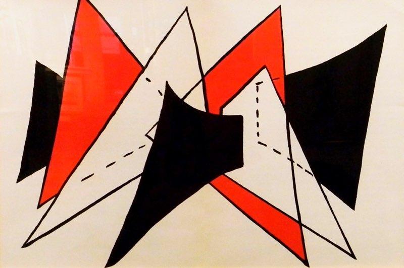 Calder, Derriere le Miroir Double Panel