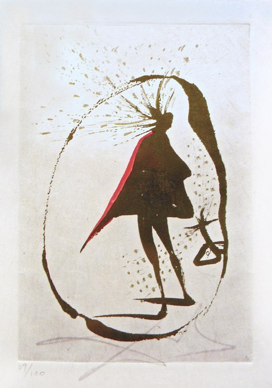 Dalí, Silhouette de Cercle