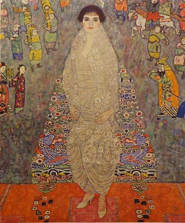 Klimt, Portrait of Baroness  Bachofen-Echt