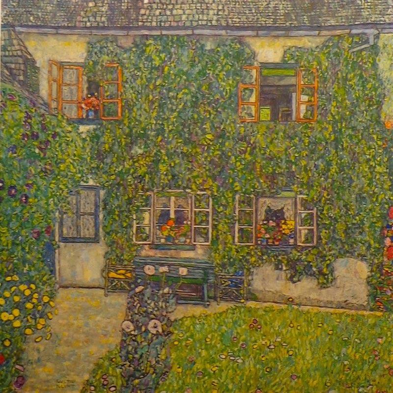 Klimt, House in a Garden