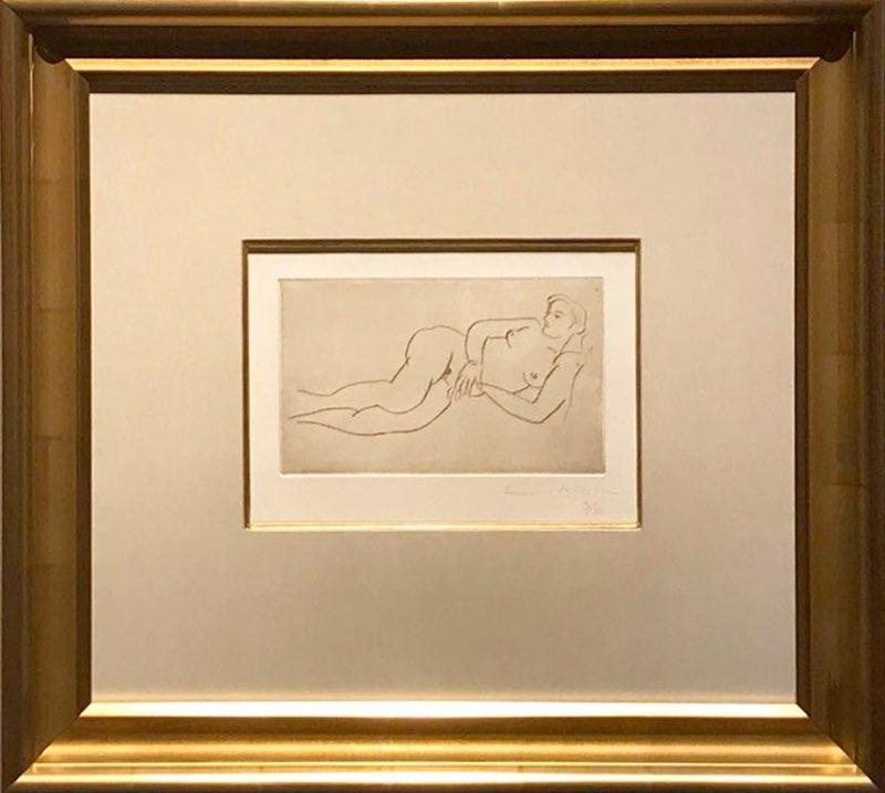 Matisse, Nue Couché