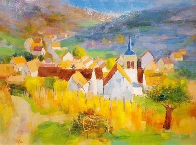 Millan, Village Alsacien