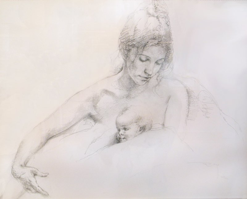 Royo, Mother and Child