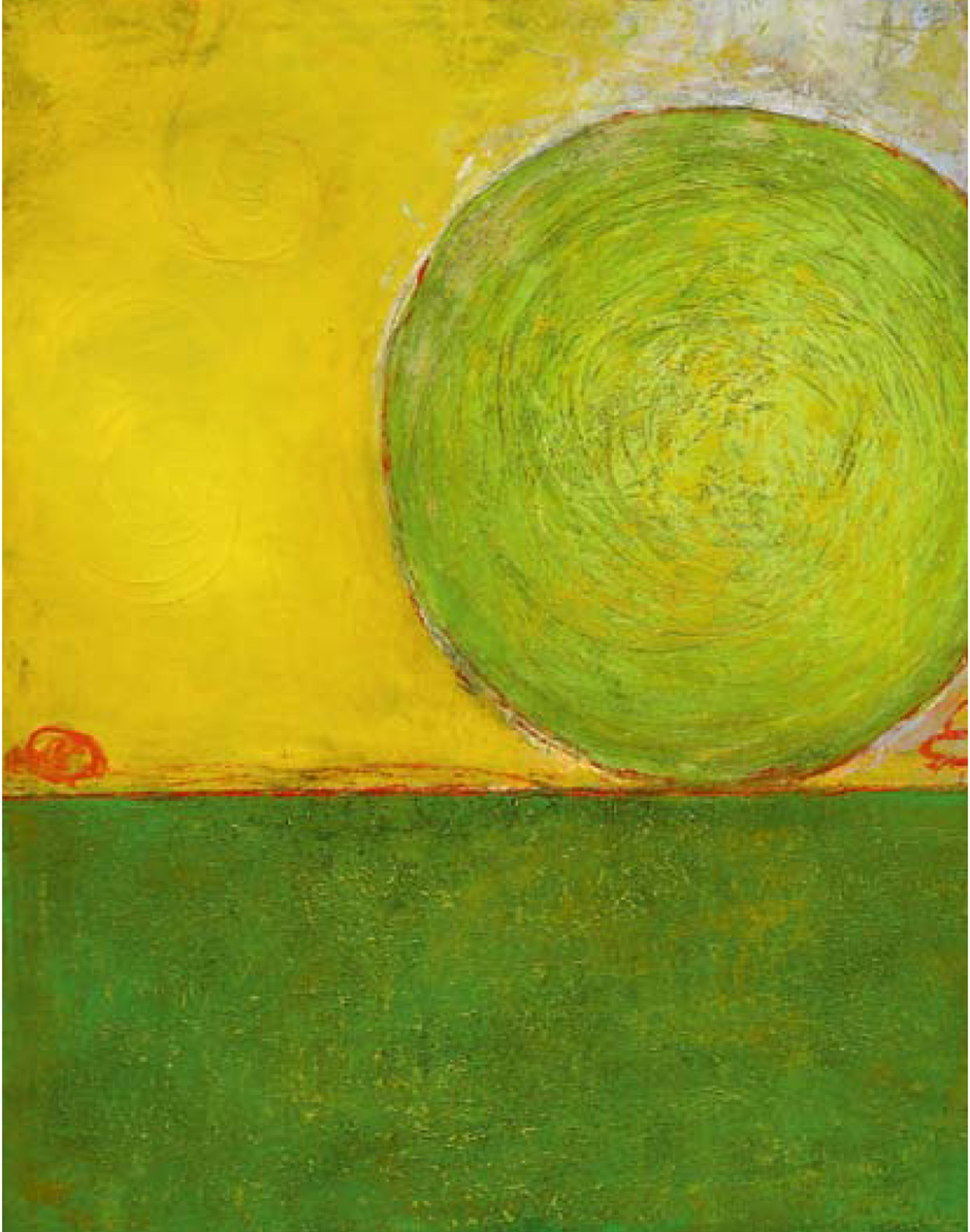 Toplev, Green Energy Ball on Peaceful Ground