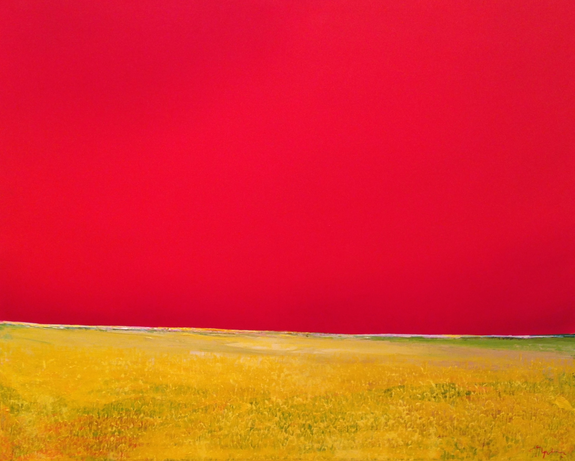 Toplev, Red Sky Yellow Grass