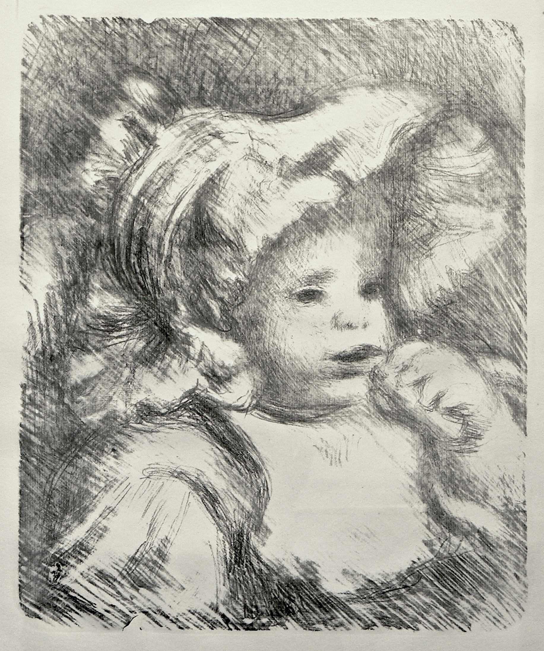 Renoir, L'Enfant au Biscuit
