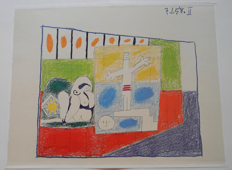Picasso, Study for UNESCO II, La chute d'lcare