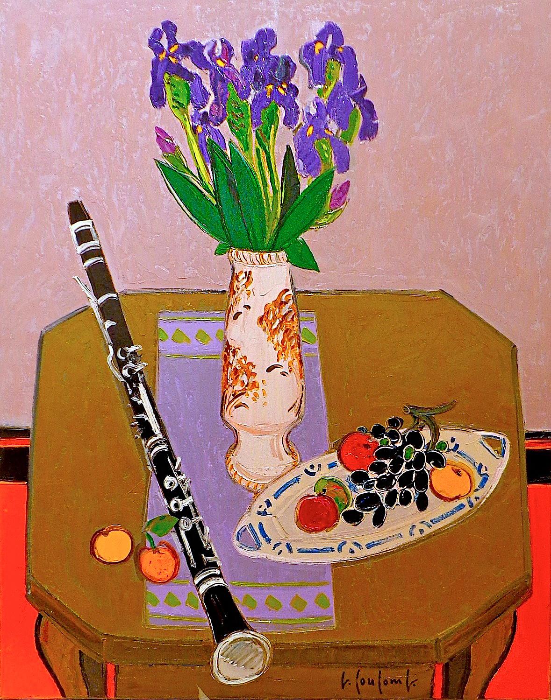 Coulomb, Clarinette au Bouquet d'Iris