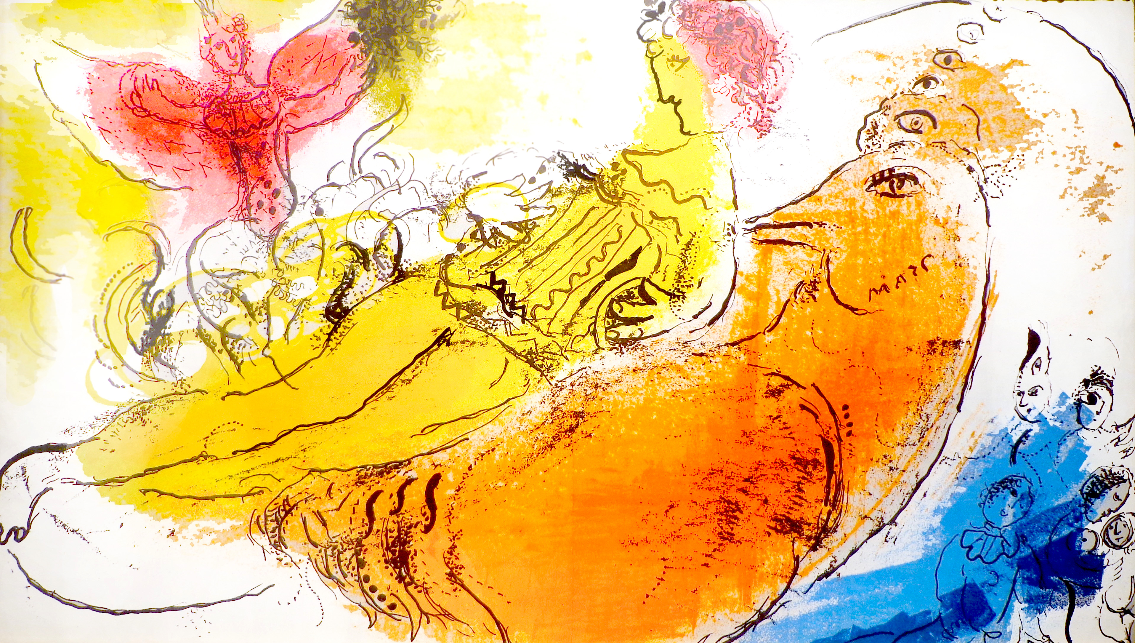 Chagall, Accordion Player