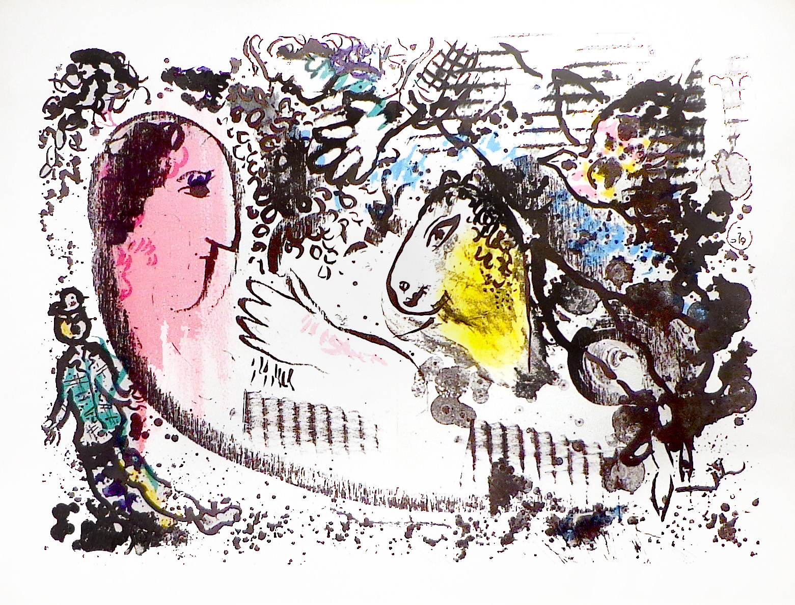 Chagall, Reverie