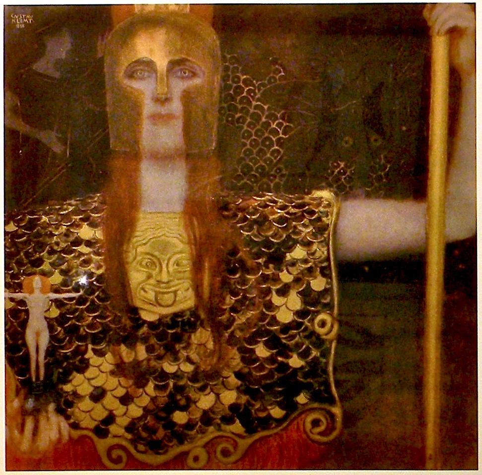 Klimt, Pallas Athena