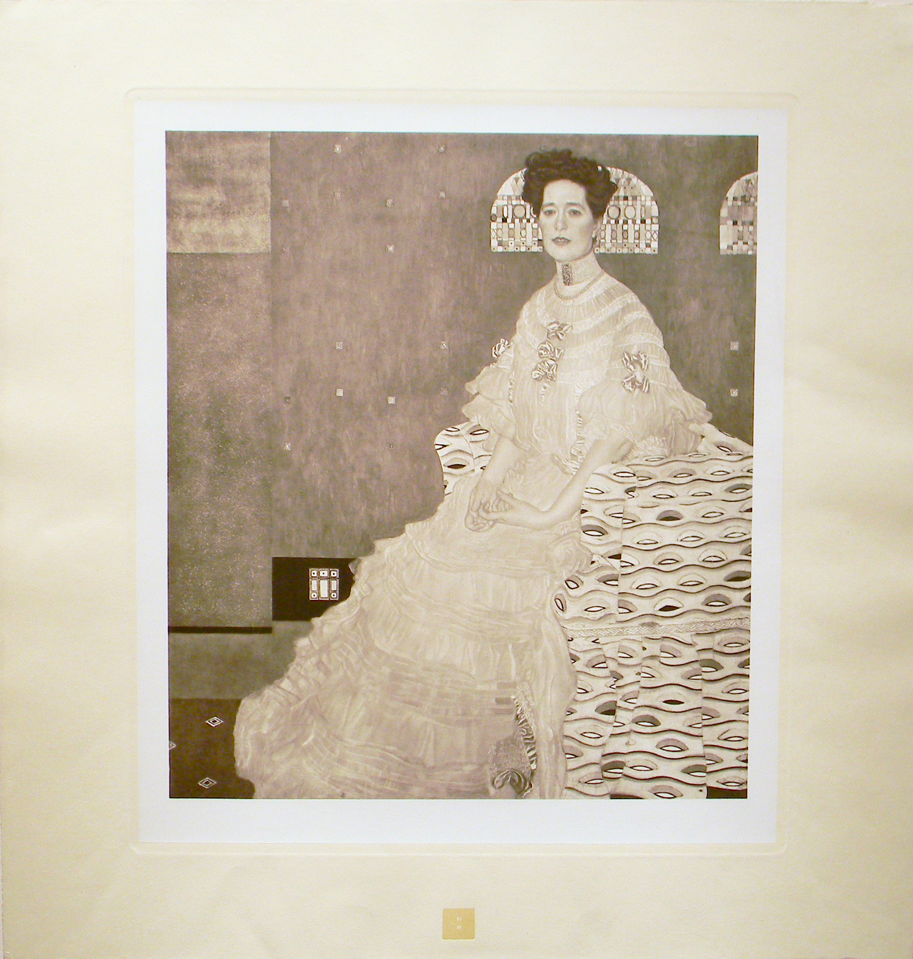 Klimt, Portrait of Fritza Riedler