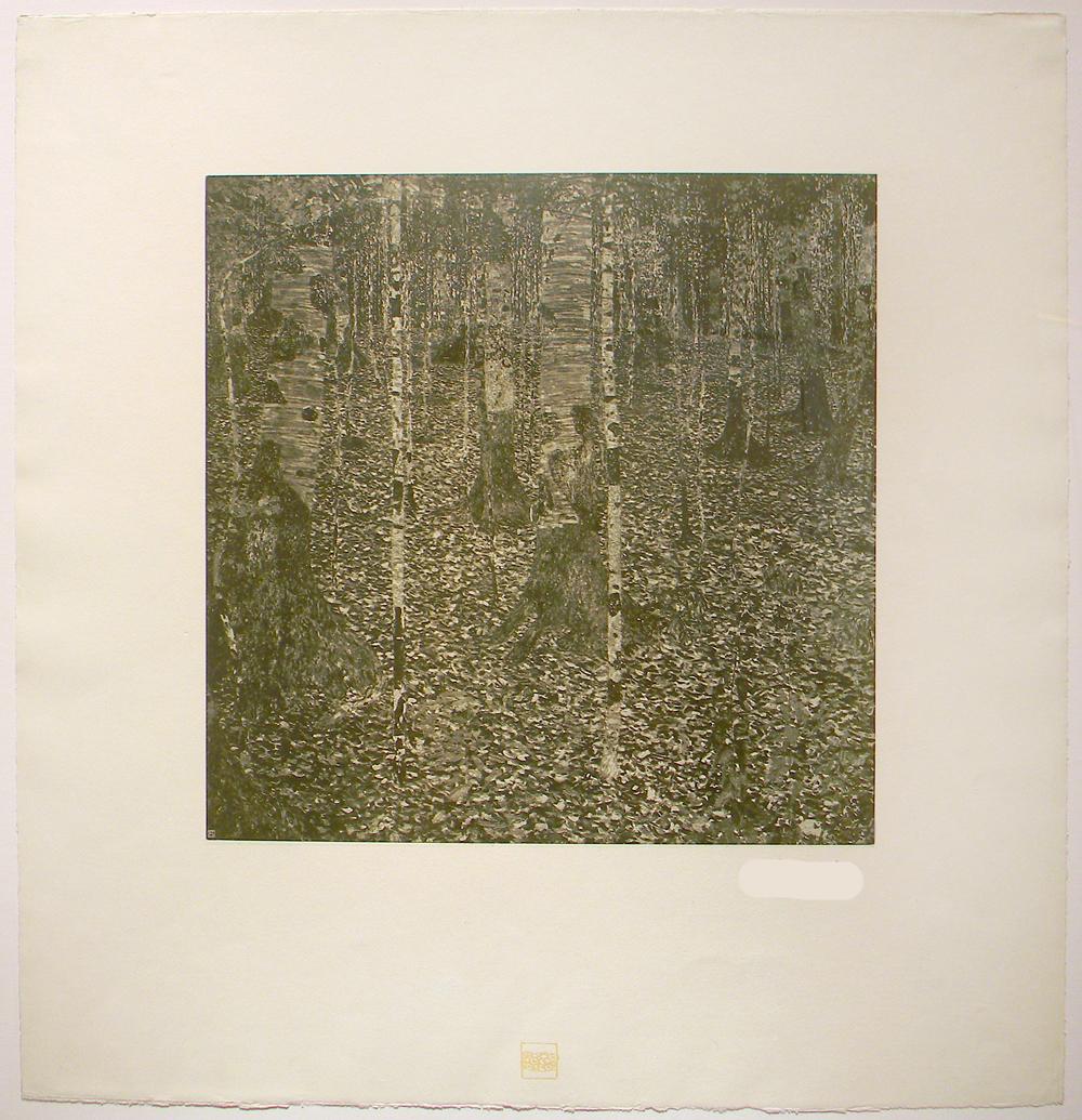 Klimt, Birch Forest 1