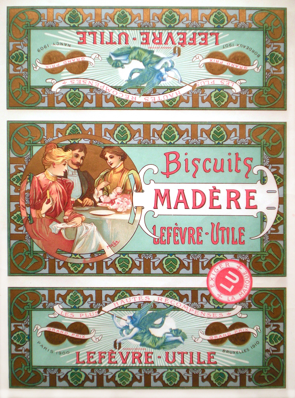 Mucha, Madère Biscuits