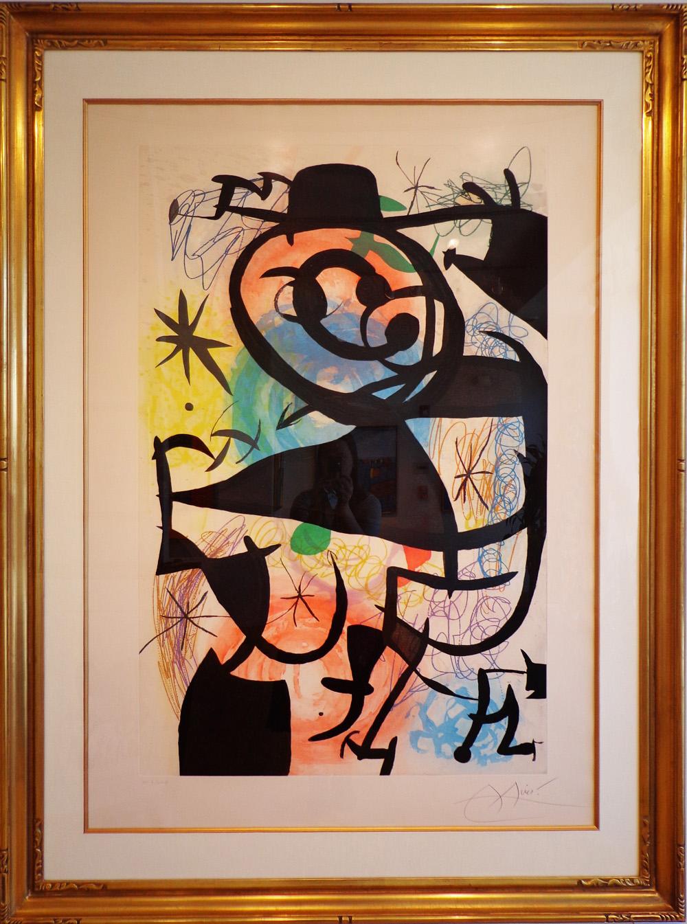 Miró, Le Pitre Rose