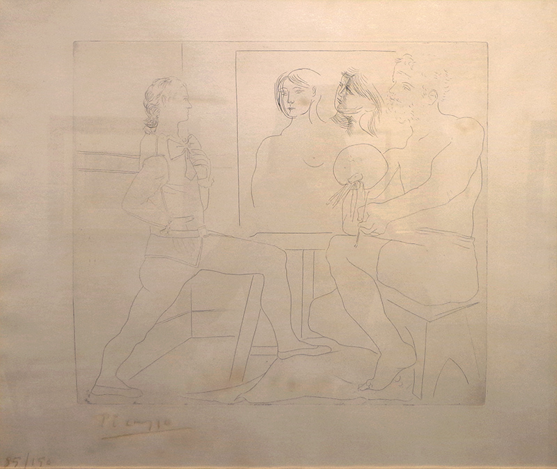 Picasso, L'Atelier