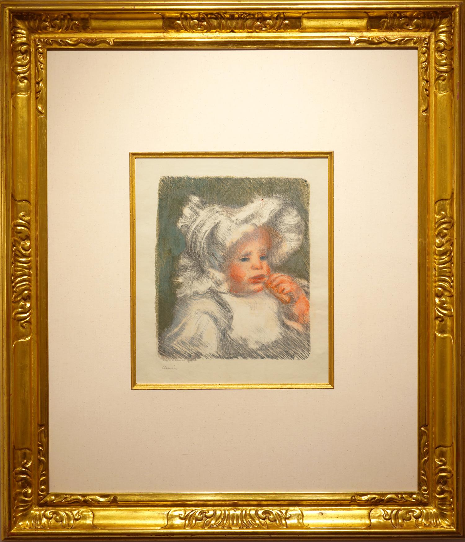 Renoir, L'enfant au biscuit in 8 colors