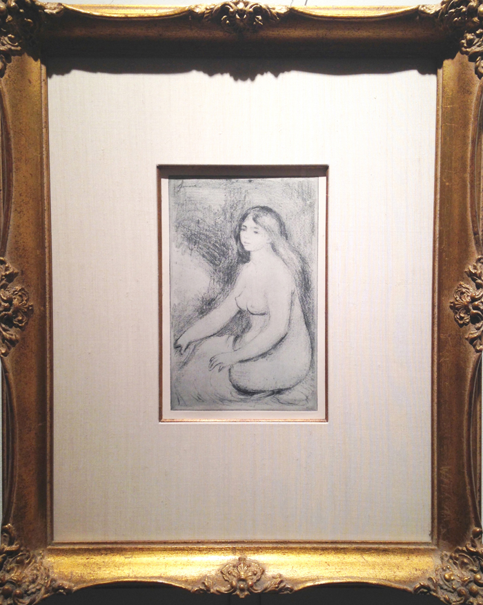 Renoir, Baigneuse Assise