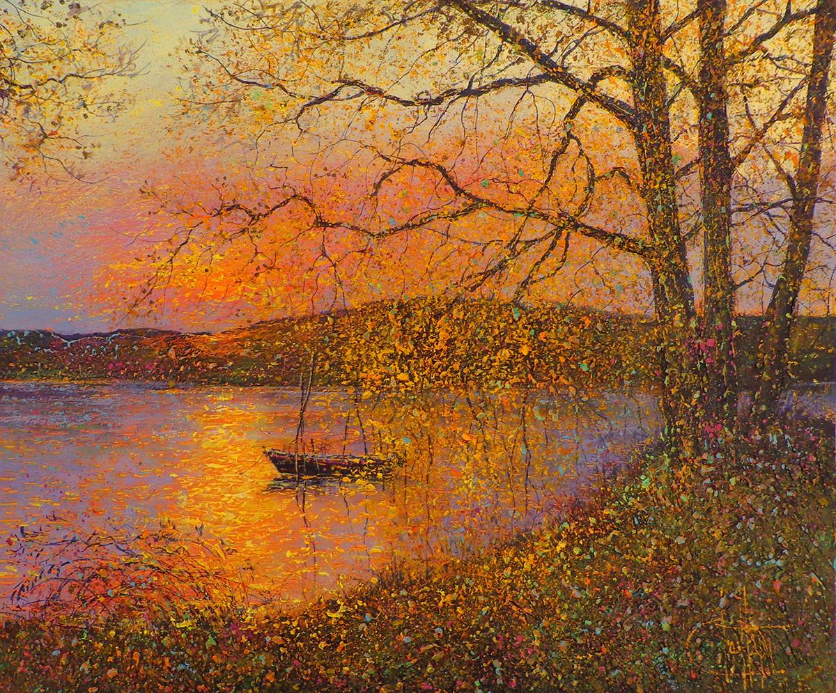 Dessapt, Le lac en Automne