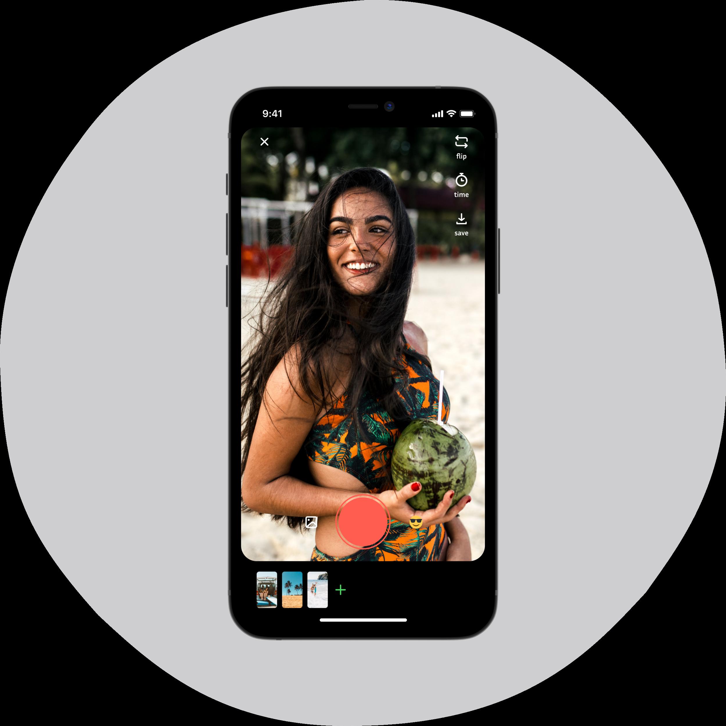 Image of BDYCLB app social video.