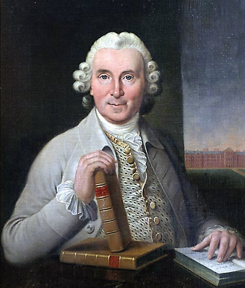 A painting of James Link