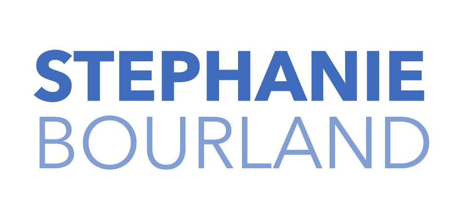 nameplate logo for stephanie bourland