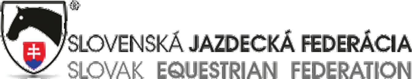 Slovenská Jazdecká Federácia logo