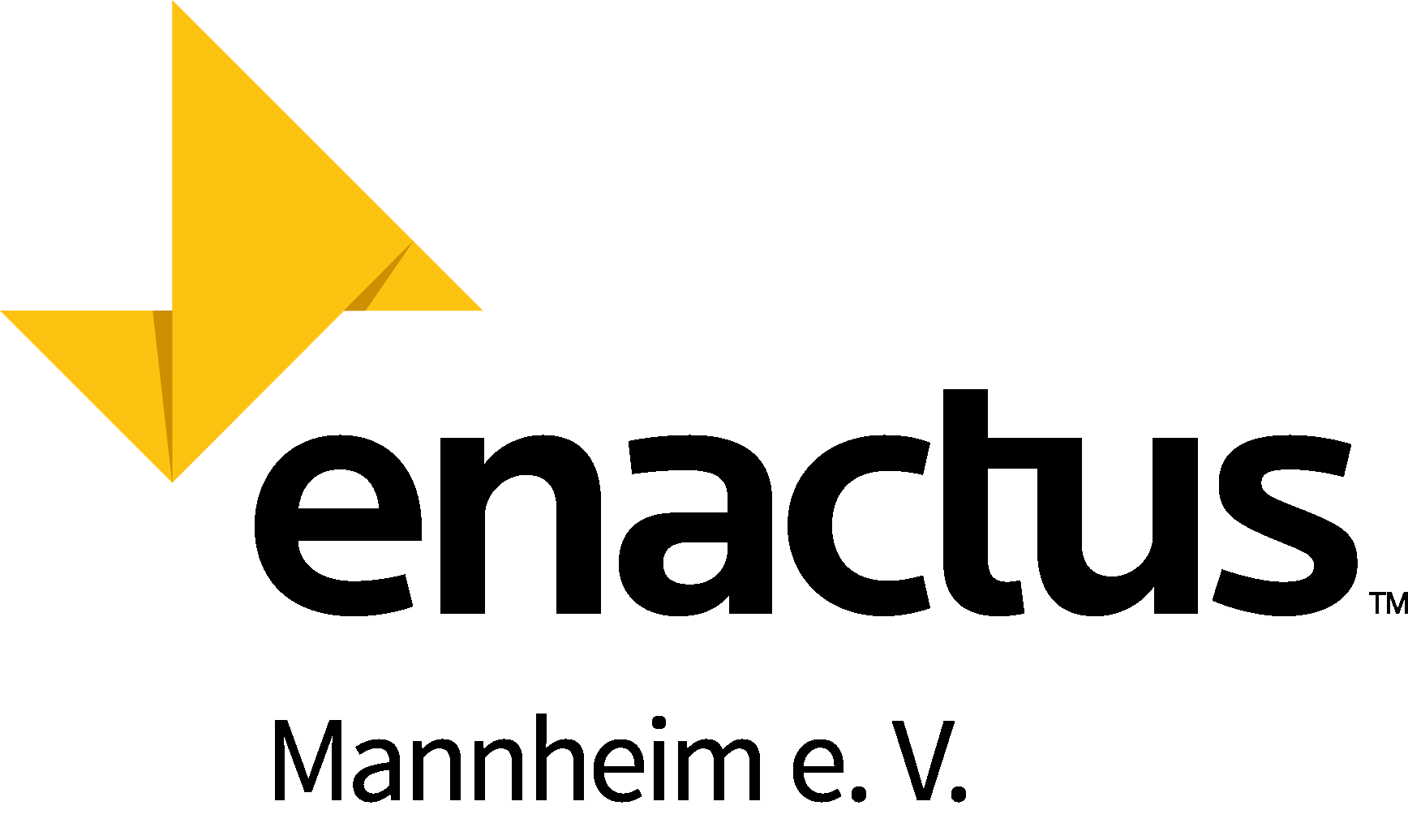 Enactus Mannheim Logo schwarz