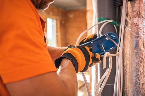 Fixing wiring