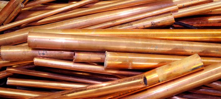 Scrap Copper Tubing #1