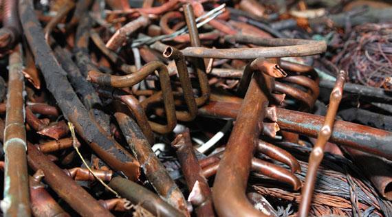 Scrap Copper Tubing #2