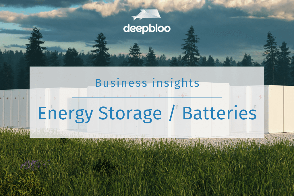Energy Storage / Batteries Business Insights