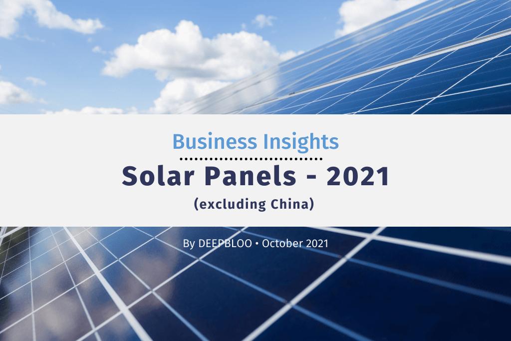 Business Insights - Solar Panels 2021