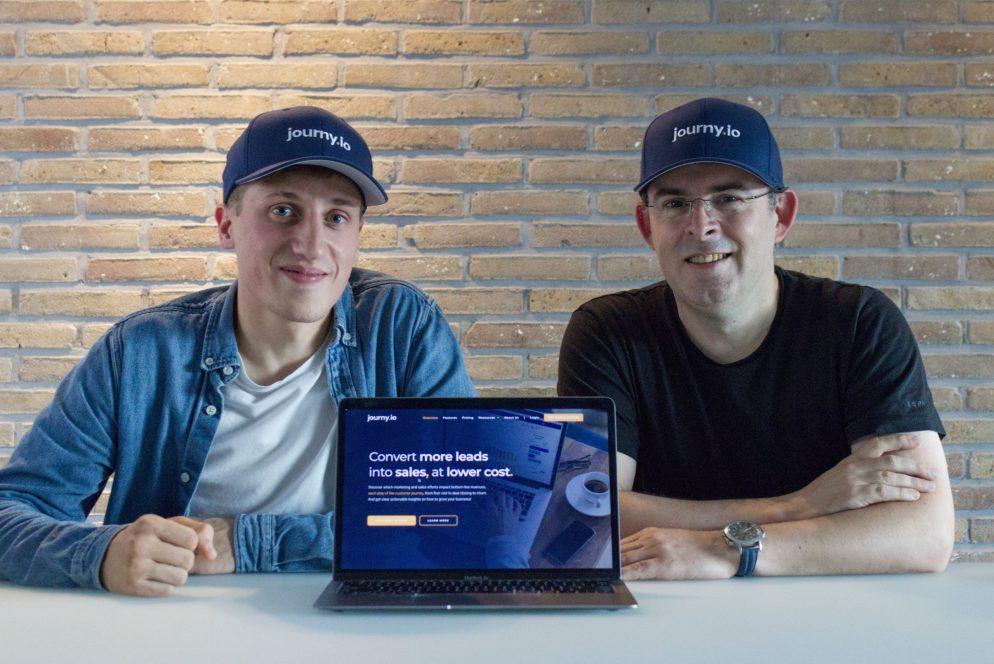 Hans Ott and Yves Delongie to launch journy.io