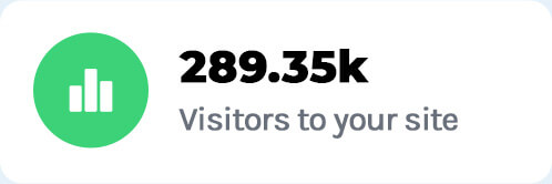 # visitors to a website
