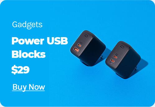 Power usb blocks