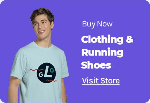 Running shoe grid