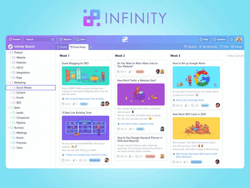 Infinity Projects