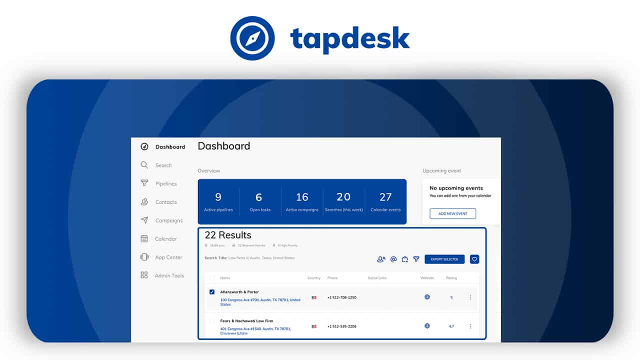 Tapdesk