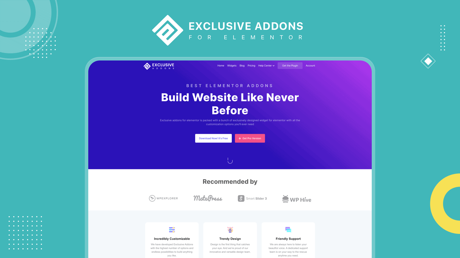 Exclusive Addons for Elementor