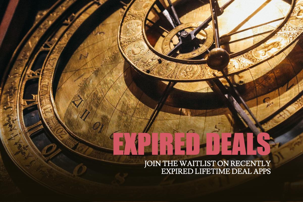 Expired Lifetime Deals